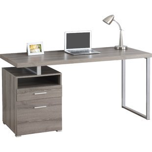 Modern & Contemporary Modern Desk With File Drawer | AllModern