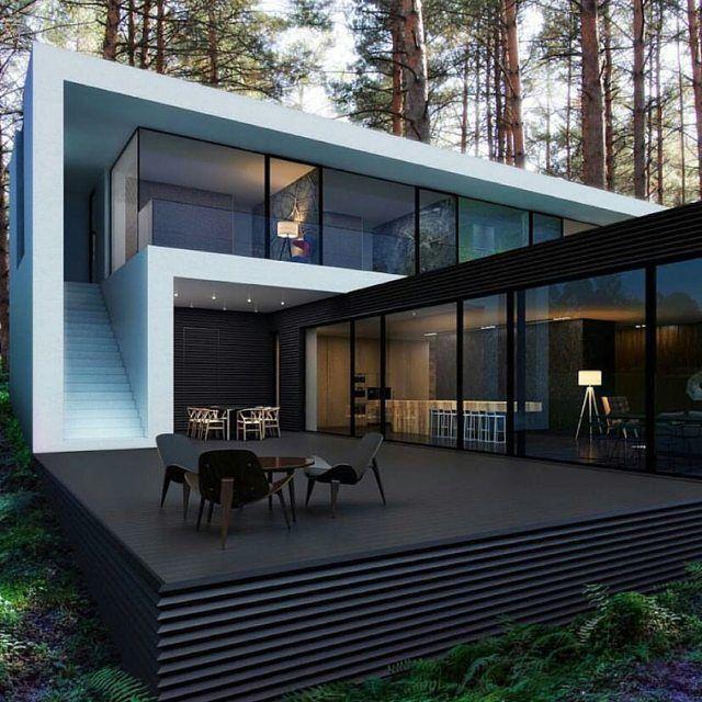 architecture #modern #woods | Exteriors | Pinterest | Modern house