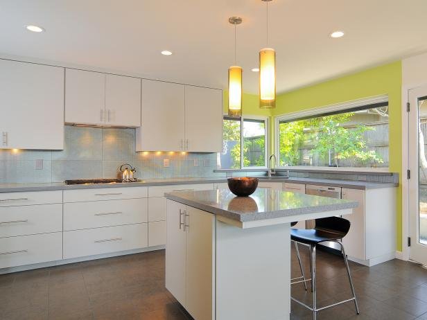 Modern Kitchen Cabinets: Pictures, Options, Tips & Ideas | HGTV
