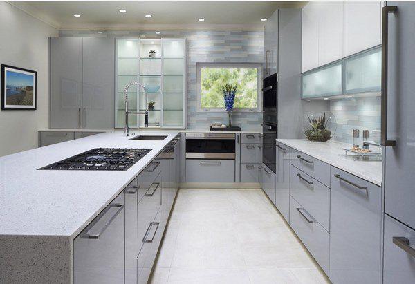 Modern kitchen cabinets 2018 u2013 interior trends and designer's tips