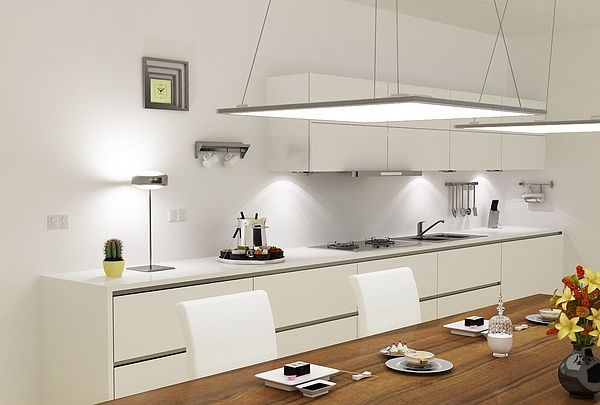 modern kitchen lighting hanging led panel light contemporary kitchen