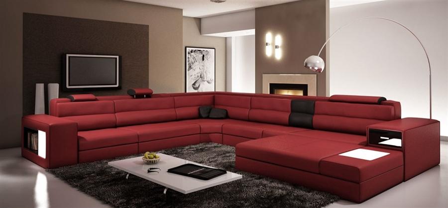 Modern Italian Design Sectional Sofa TOS-LF-2205