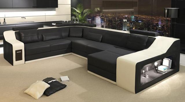 2015 modern sofa/leather sofa/sofa set/sofa furniture-in Living Room