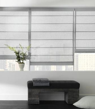 modern window coverings | modern window shades | Window Dressing in