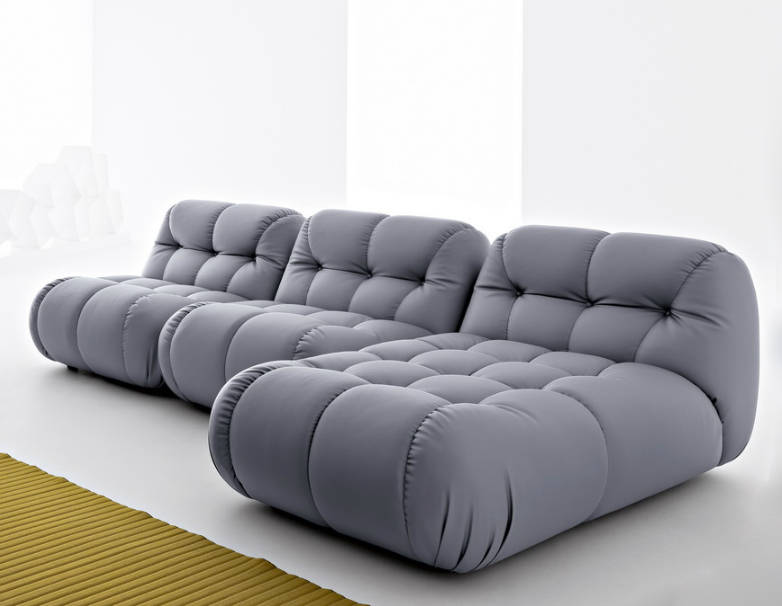Sexy Modular Sofa with Extra Deep Tufting