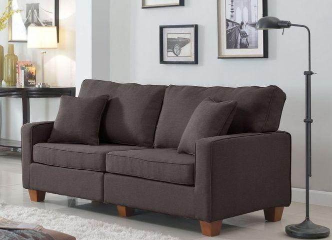 Sofa: incredible comfortable loveseat Most Comfortable Loveseat