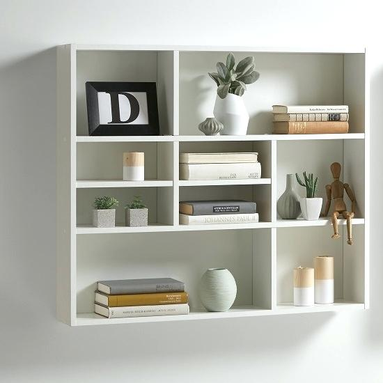 White Wall Mount Wall Mounted Bookshelves Wall Mounted Book Shelving