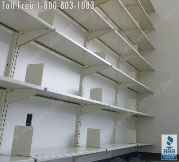 Wall Mounted Library Book Storage Shelving | Heavy Duty Wall Mounted