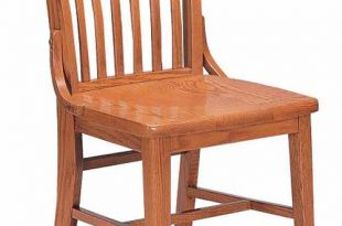 Community Americana Slat Back Wooden Chair W/O Arms - 303a | Wooden