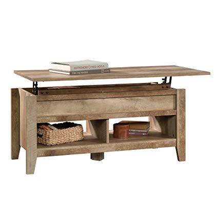Amazon.com: Sauder 420011 Dakota Pass Lift Top Coffee Table, L