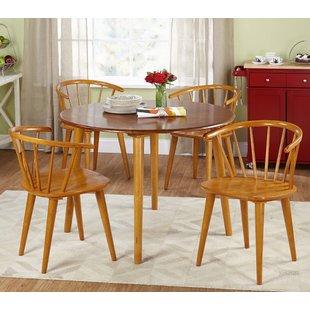 Oak Dining Room Captain Chairs | Wayfair