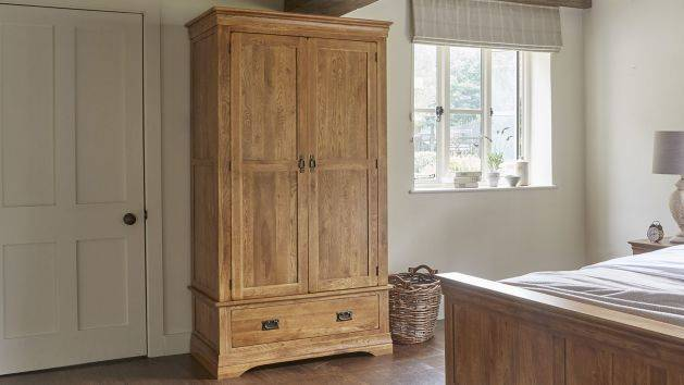 Oak Wardrobes | Double and Triple Wardrobes | Oak Furnitureland
