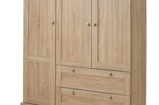 French Country Oak Wardrobes You'll Love | Wayfair.co.uk