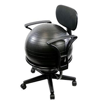 Amazon.com: CanDo Metal Ball Chair, 22