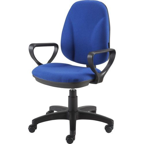 Blue Fabric Seat Office Chair, Rs 4200 /piece, Trimurti Furniture