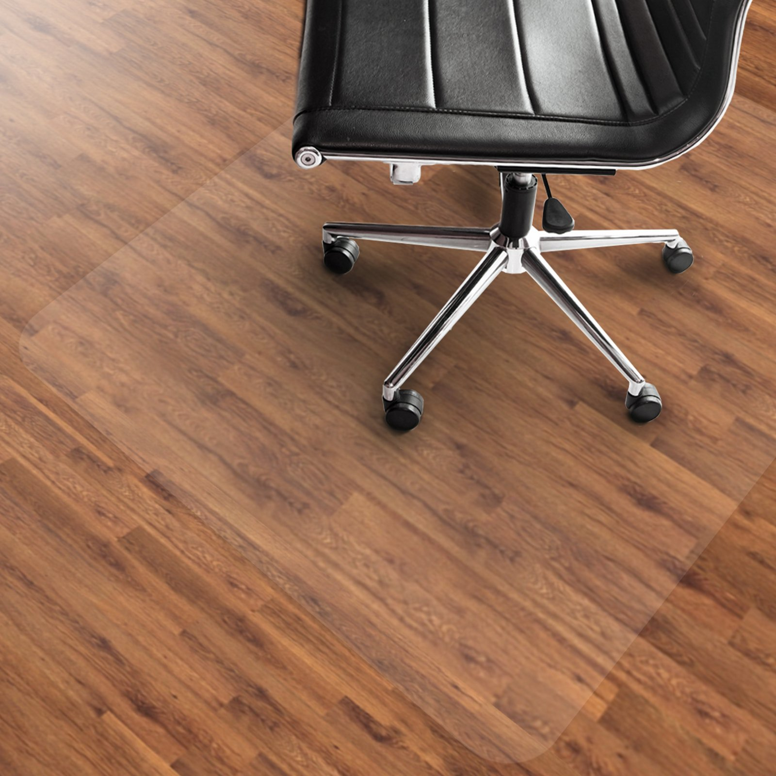 Office Marshal PVC Chair Mat for Hard Floors - 48