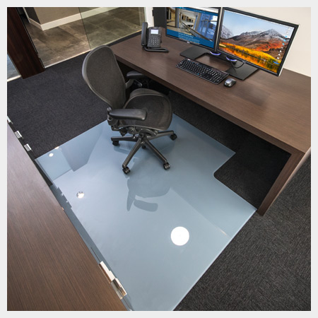 Glass Chair Mats - M3 Glass Techologies