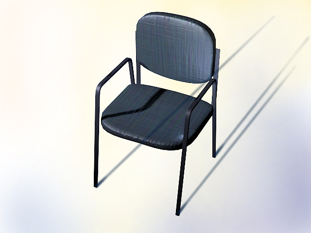 No wheels office chair 3d model 3dsMax,AutoCAD files free download