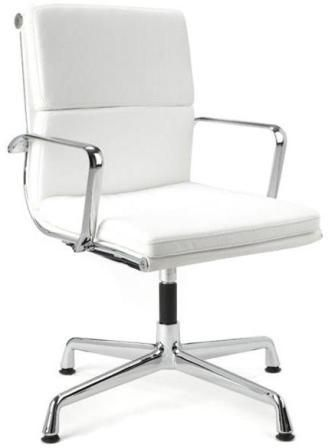 Director Office Chair With No Wheels - White | House | Pinterest
