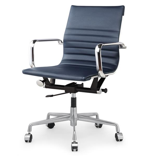 M348 Modern Office Chair In Vegan Leather | Meelano