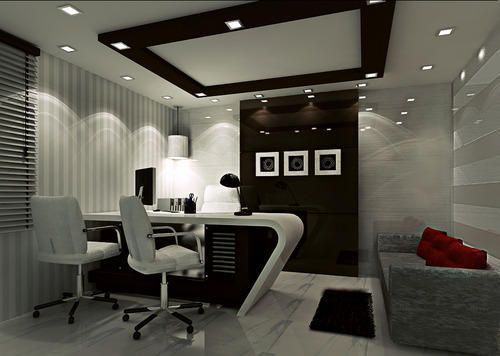Office MD Room Interior Work | Executive tables | Office cabin