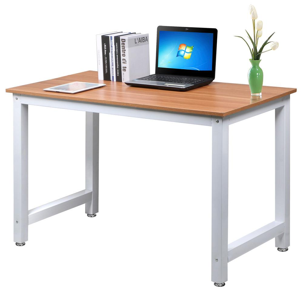Yaheetech Modern Simple Design Home Office Desk Computer Table Wood