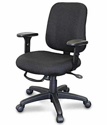 Office Chairs | Mid Back Chairs | Executive Task Chair, Seat Depth