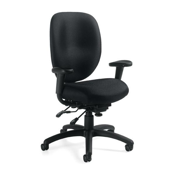 The Atlas Multi-Function Office Task Chair Offers Back Comfort