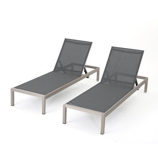Trendy Outdoor Chaise Lounge