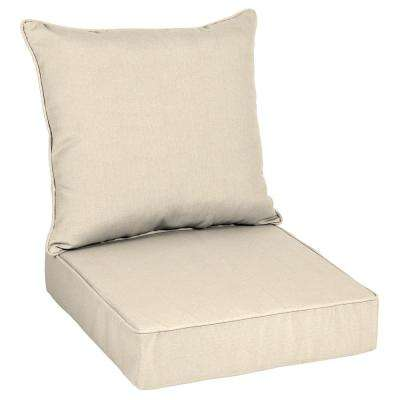 Canvas Flax - Outdoor Cushions - Patio Furniture - The Home Depot