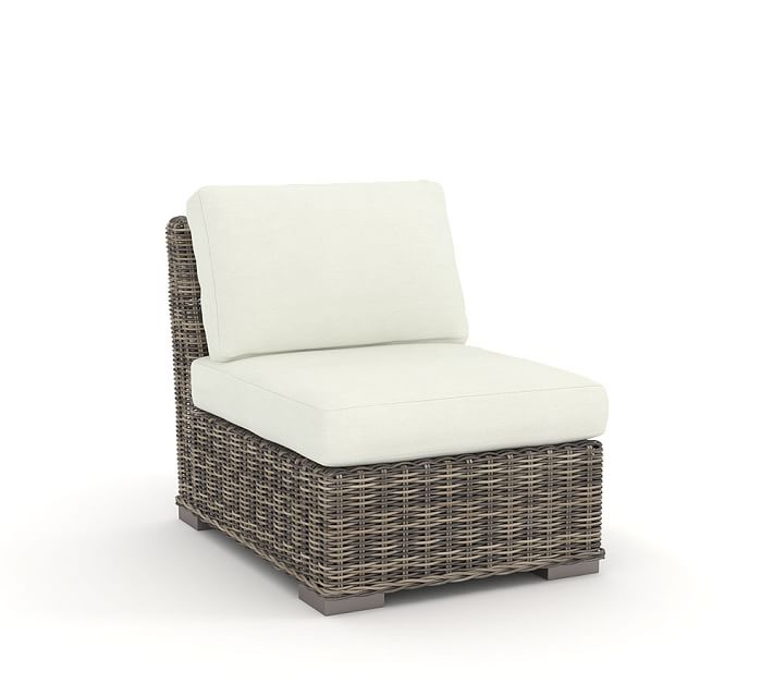 Huntington Outdoor Furniture Replacement Cushions | Pottery Barn