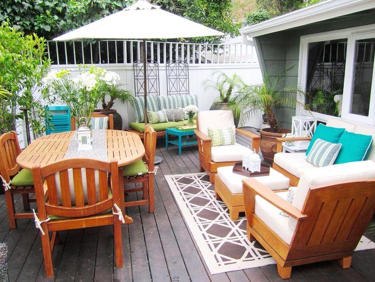 Deck Furniture Layout Ideas | Patio in 2019 | Pinterest | Patio