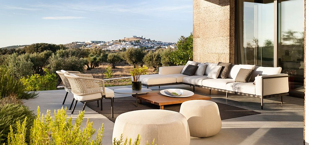Contour: Outdoor Décor Collection Fuses Effortless Form with Durable