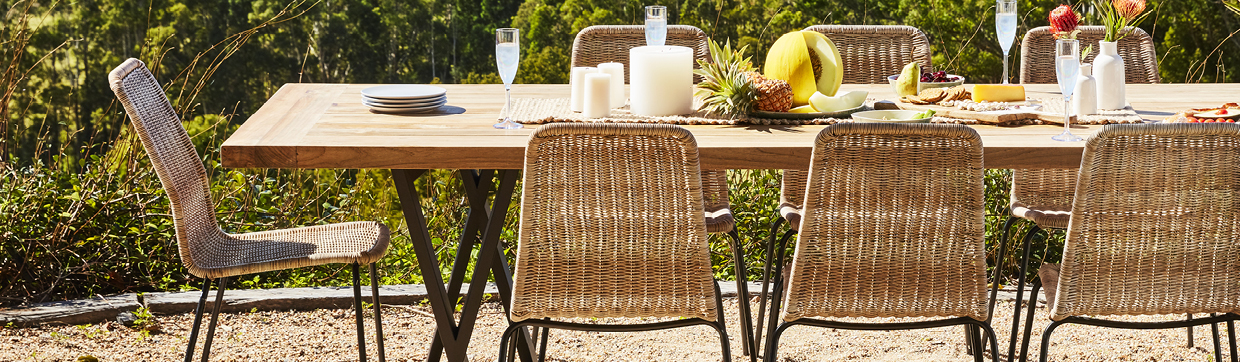Outdoor Dining Tables & Chair Packages - Early Settler