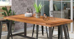 17 Stories Polanco Outdoor Dining Table & Reviews | Wayfair