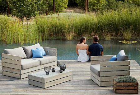DIY Outdoor Garden Furniture: 3 Steps