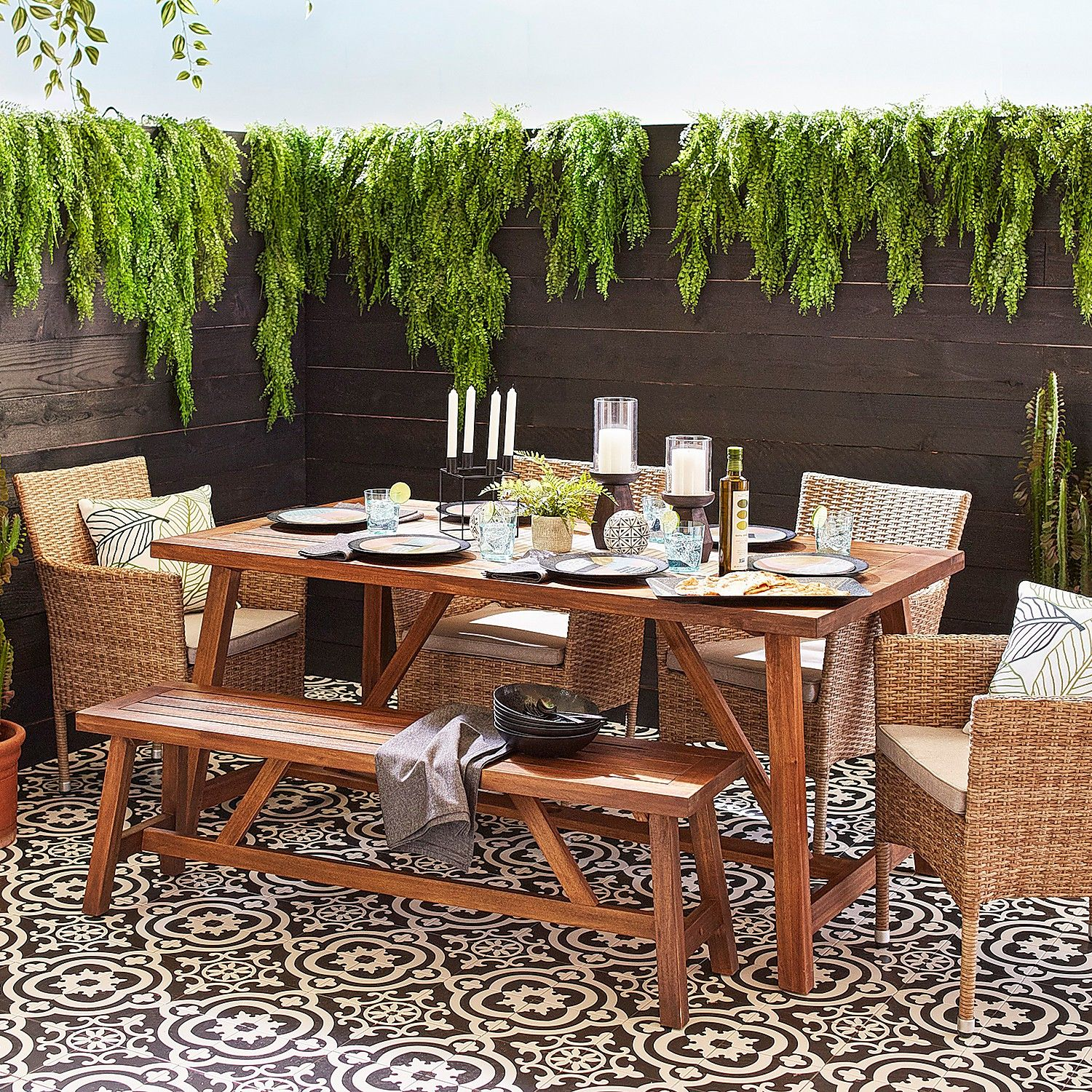 Beautiful outdoor garden   furniture