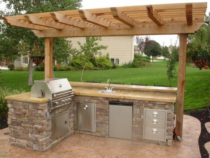 95 Cool Outdoor Kitchen Designs Small Outdoor Kitchens Kitchen Small