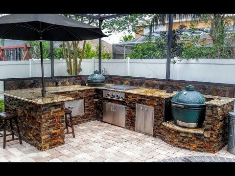 best outdoor kitchen design ideas - YouTube