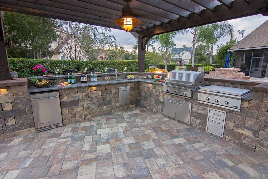 Your Outdoor Kitchen u2014 Pratt Guys