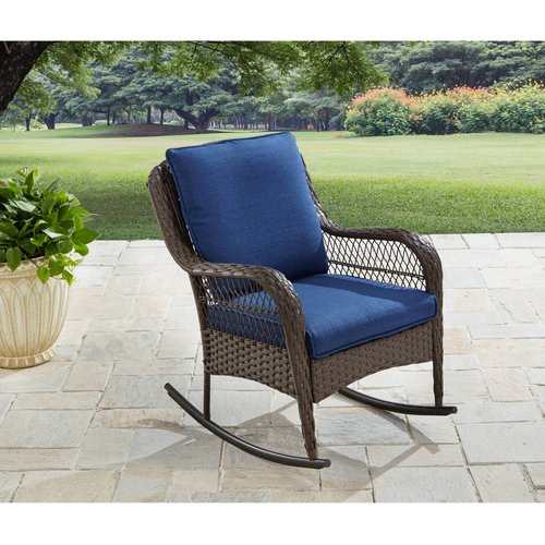 Better Homes & Gardens Colebrook Outdoor Rocking Chair - Walmart.com