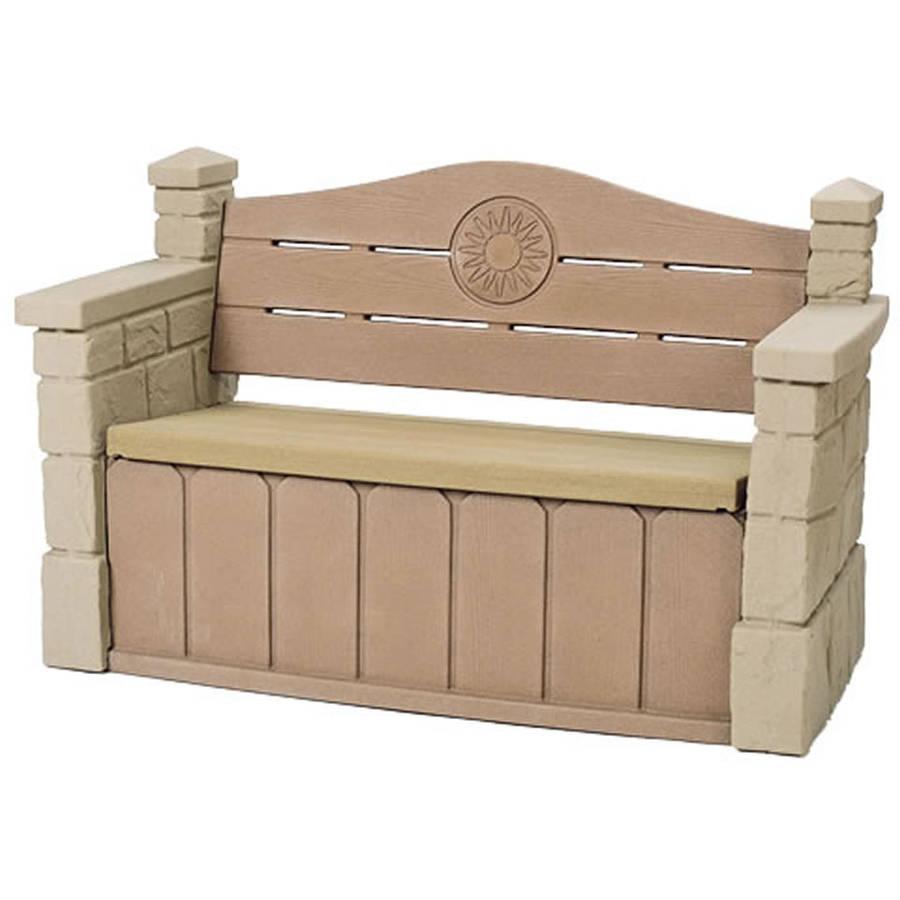 Step2 Outdoor Storage Bench - Walmart.com