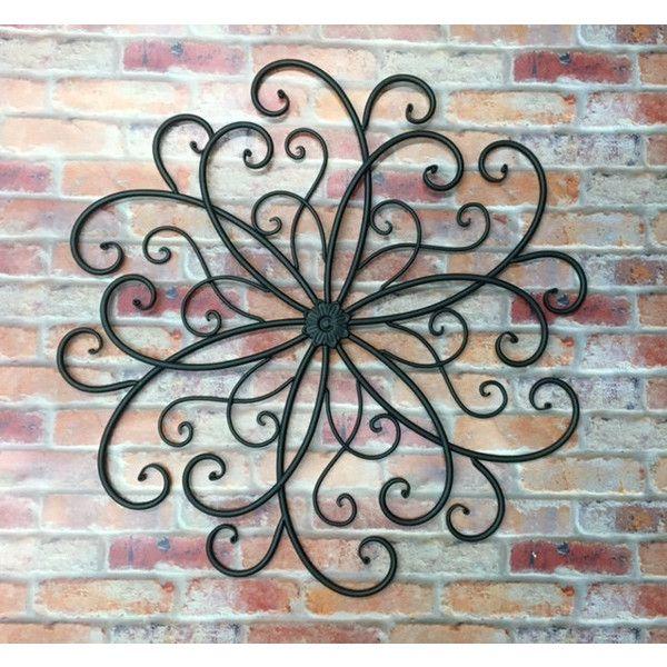 Outdoor metal wall art/metal wall hanging/bohemian decor/faux