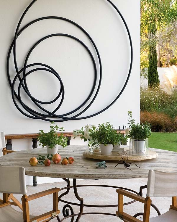 The Benefits of Decorating   Outdoor Walls with Art