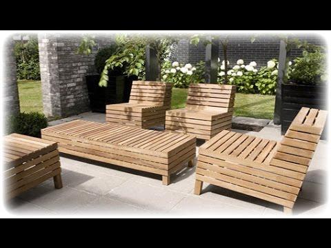Outdoor Wood Furniture~Outdoor Wood Furniture Australia - YouTube