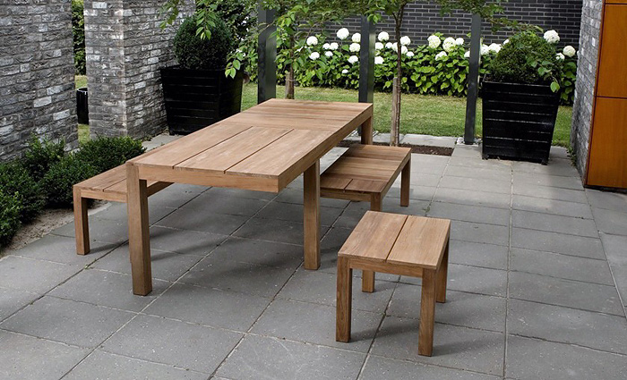 Patio. Amusing Wooden Outdoor Furniture: Cool Wooden outdoor