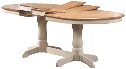 Amazon.com - Iconic Furniture Oval Dining Table, 42