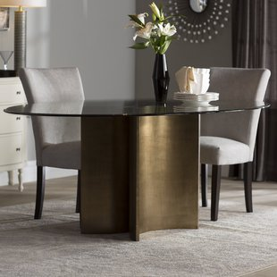 Oval Kitchen & Dining Tables You'll Love | Wayfair