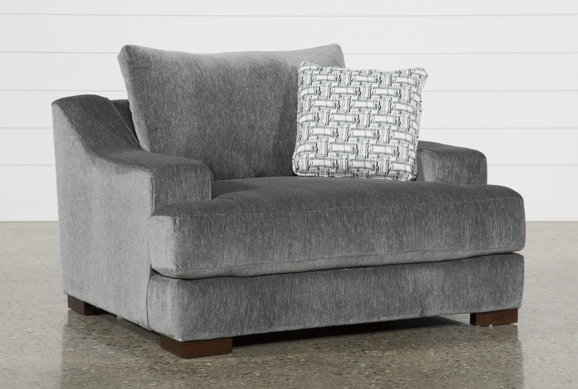 Maddox Oversized Chair | Living Spaces
