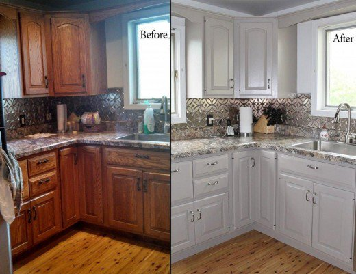 Tips for Spray Painting Kitchen Cabinets | Dengarden